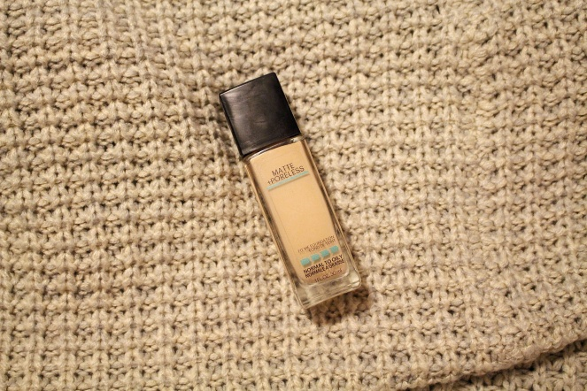 Maybelline Matte & Poreless Foundation
