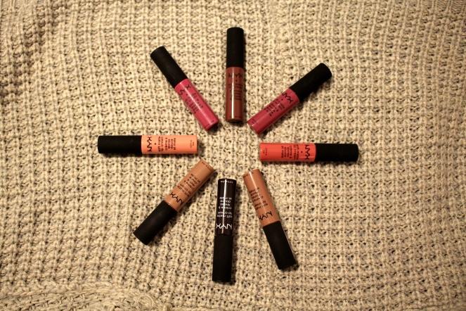 NYX Matte Lip Creams
