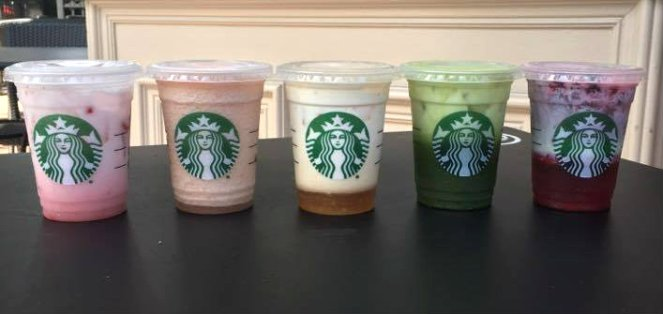 starbucks rainbow 2