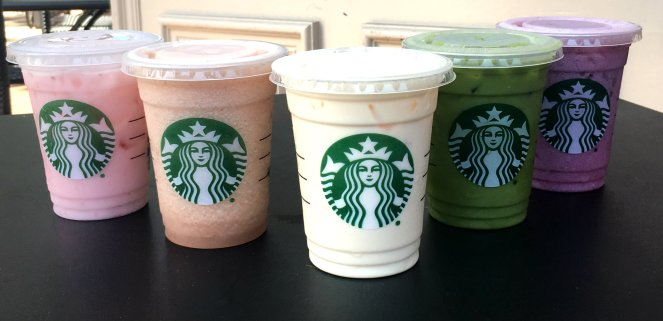 starbucks rainbow
