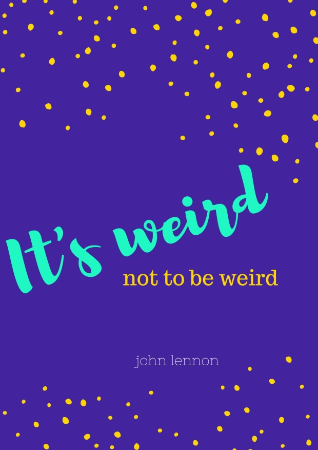 Neon Confetti Dance Quote Poster