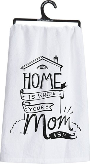 mom home tea towel